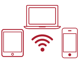 Halo Pro - Device Icons (Red)