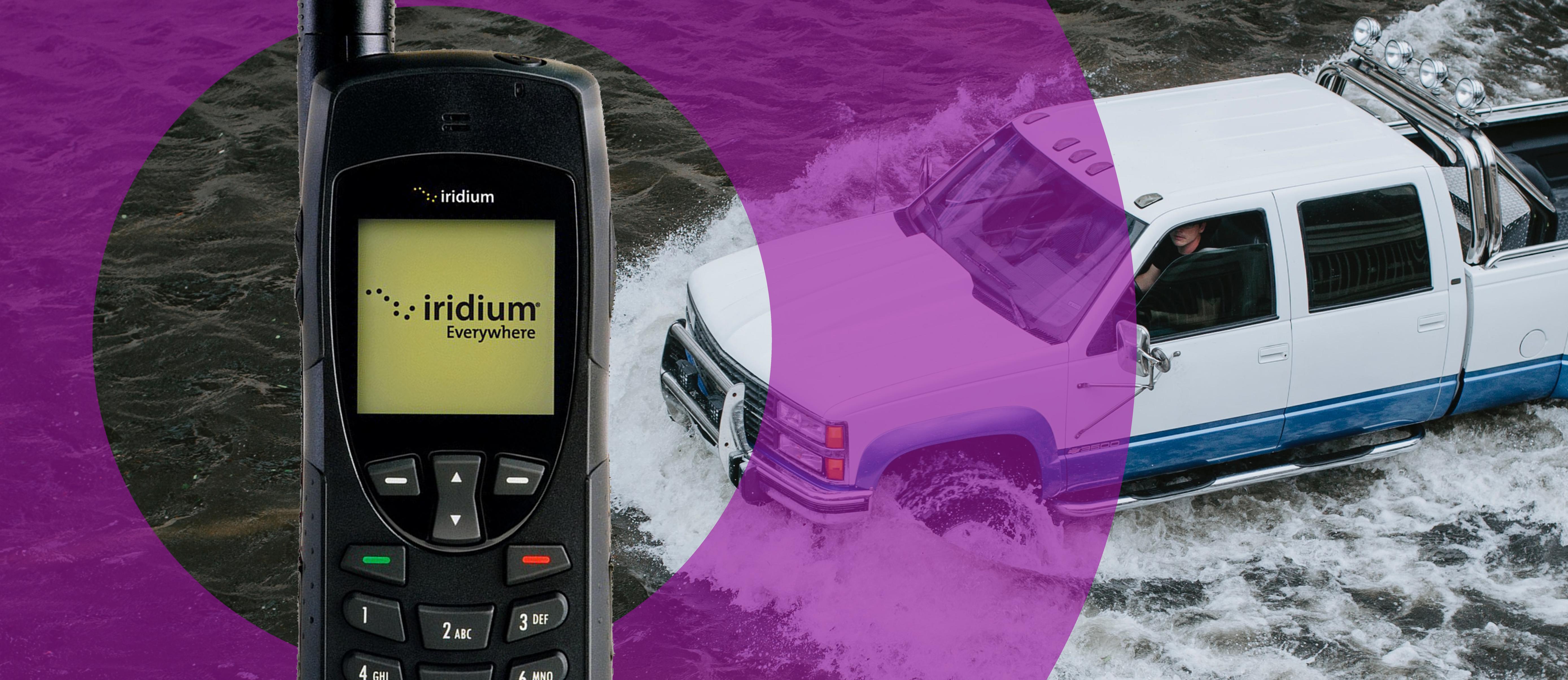 iridium9555 hurricane satellite phone